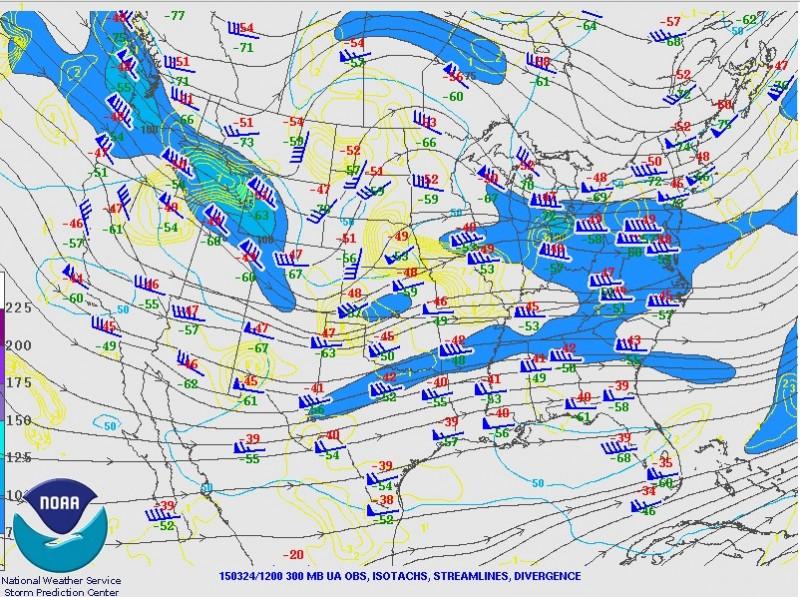 12z 300mb SPC Upper Air Map